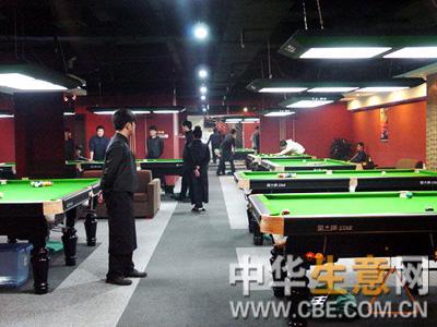 北京台球厅转让项目图片