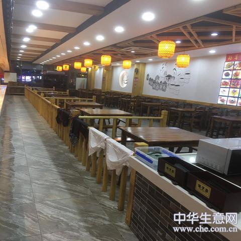 中式快餐店低急转项目图片