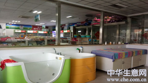 嘉兴妇幼保健院门口母婴用品店项目图片