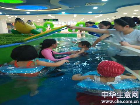 盈利婴幼儿游泳馆转让股份合作均可项目图片