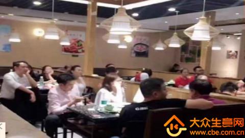 静安寺旁十字路口饭店项目图片