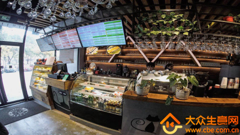 无锡地铁站旁咖啡厅转让项目图片